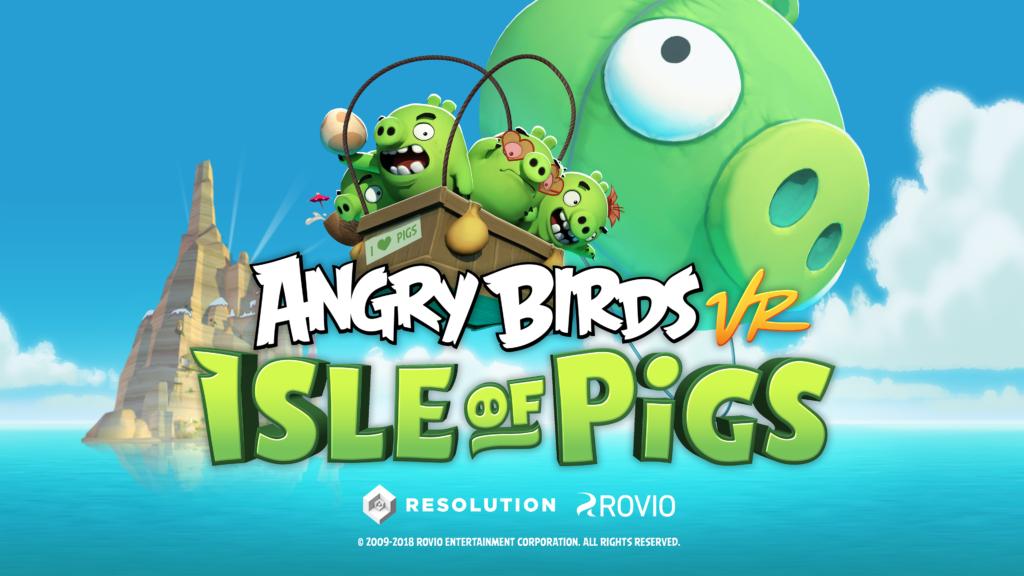 Angry Birds VR(アングリーバードVR)はライトなVRゲームだった