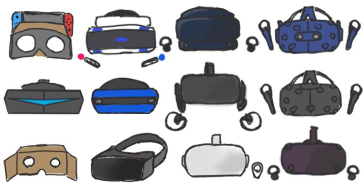 家庭用VRデバイスのコスパを図にしてみた+SwitchVRの感想