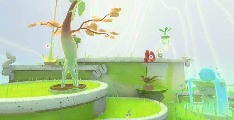 癒し系ファンタージー散策ガーデニングVRゲーム「Fujii」