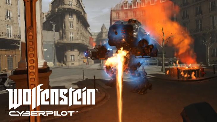 「Wolfenstein: Cyberpilot VR」レビュー。評判悪いけど・・・