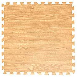 タンスのゲン 6畳用 32枚組 木目調ジョイントマット 大判 60cm