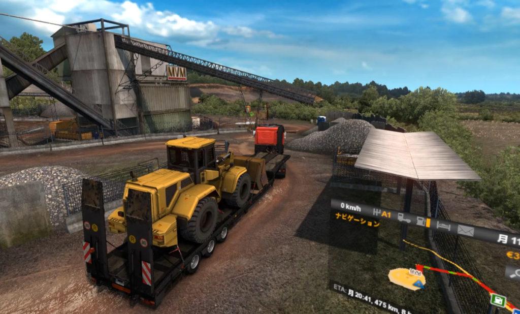 Euro Truck Simulator VR視点